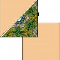 Coussin Restonica ZIP Diagonal