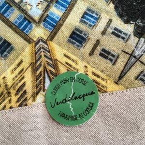 Pochette MAXI – Motif Place des Palmiers