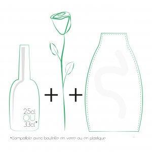 Vase HERBA – Motif Girolata